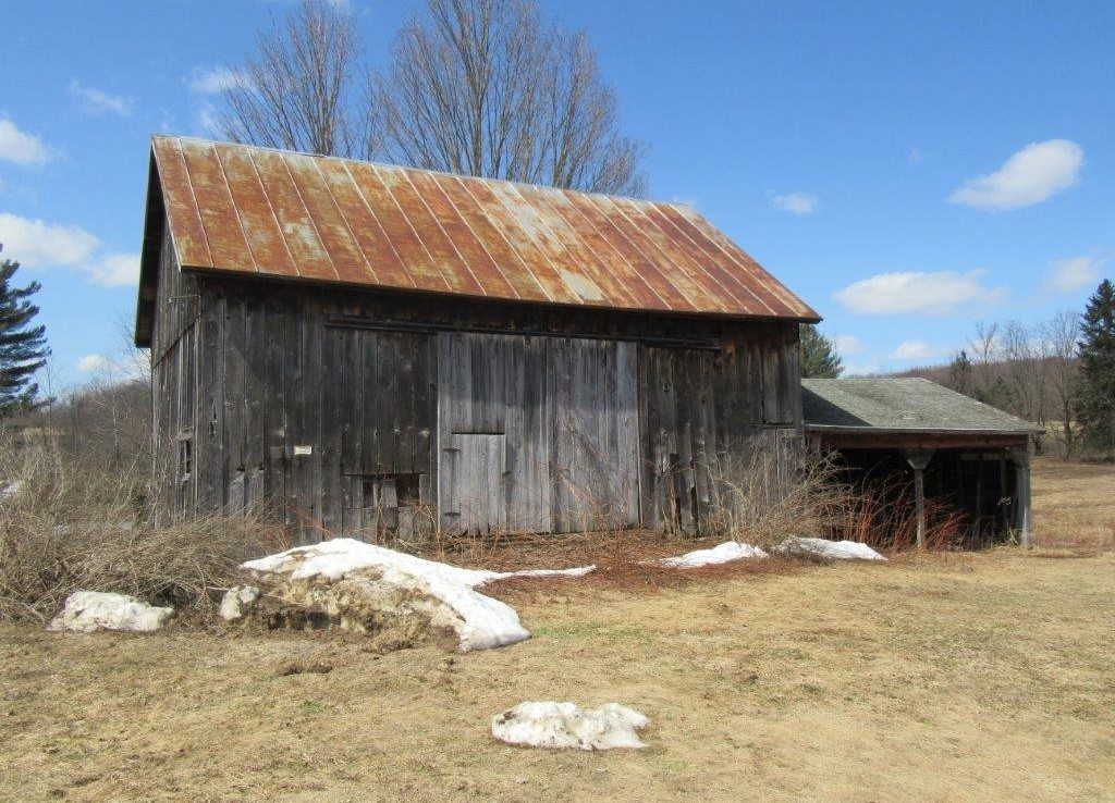 old barn on 19 acres farm land for sale NY