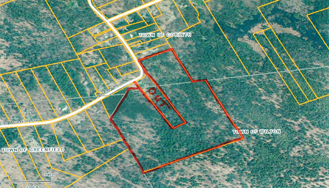 Aerial Map Hunting Land for Sale