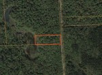 Map Bordering Pharsalia Woods State Forest Land for sale