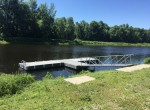 4 acre Building Lot with Dock on Grasse River
