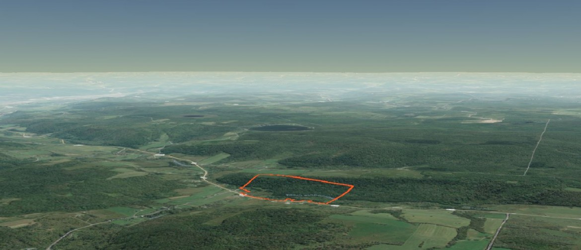 3D Map 85 acres for sale upstate NY
