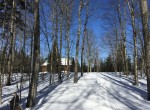 Off-Grid, Backcountry Wilderness Retreat with Snowmobile Trail Access!