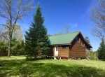 274 acres Land for sale with Cabin and Private 15 acre Adirondack Bass Pond!