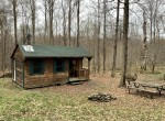18 acres secluded hunting land and cabin for sale in German, NY!