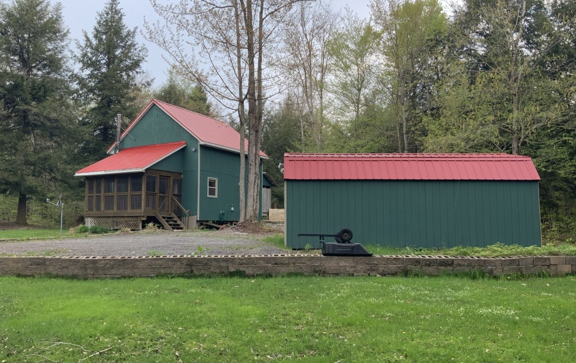 5 acres All Seasons Cabin Redfield NY