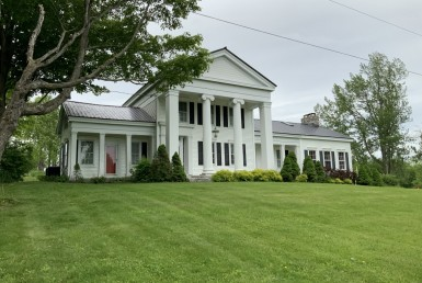 100 acres Greek Revival Home Fairfield NY