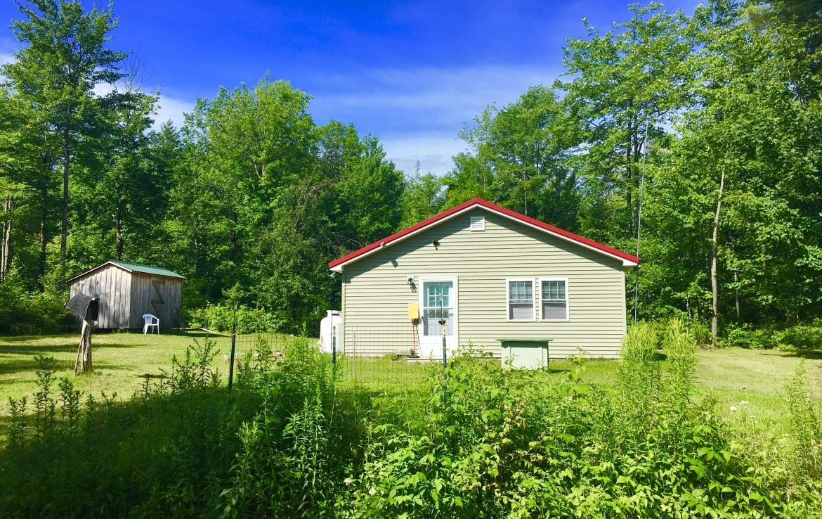 4 acres Solar Powered Cabin Hopkinton NY