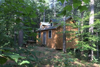 8 acres Hunting Cabin on Pond Edwards NY