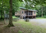 5 acres Cabin bordering State Land Redfield NY