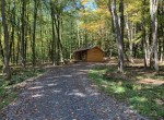 3.8 acres Hunting Camp for Sale Bordering State Forest!