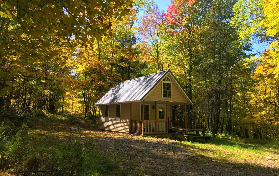 187 acre Hunting Cabin Pierrepont NY