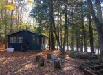 8 acres Cabin on St. Regis River