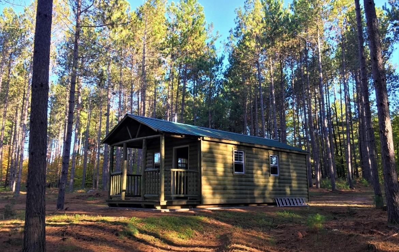 6 acres Adirondack Land with Cabin Malone NY