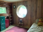 Large bedroom and additional loft for sleeping.