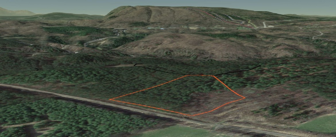 5 acres of land with total seclusion.