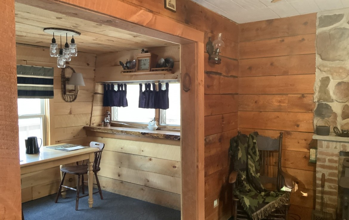 Perfect for Outdoors families looking to relax in the woods but also have some comforts.