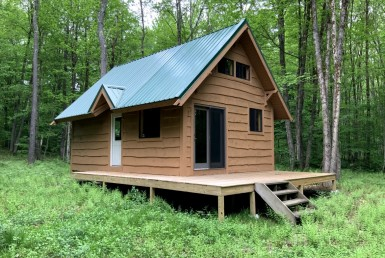5 acres Cabin borders State Land Annsville NY