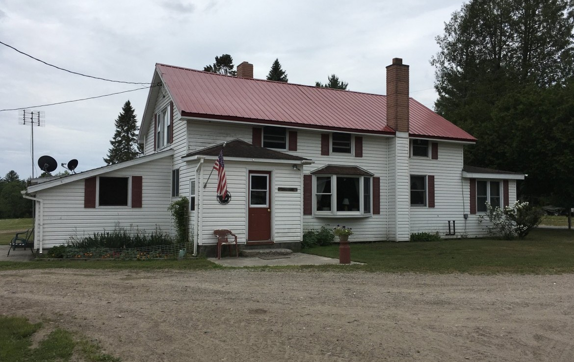 Adirondack Hobby Farm and House on 25 acres Land for Sale in Fine, NY!