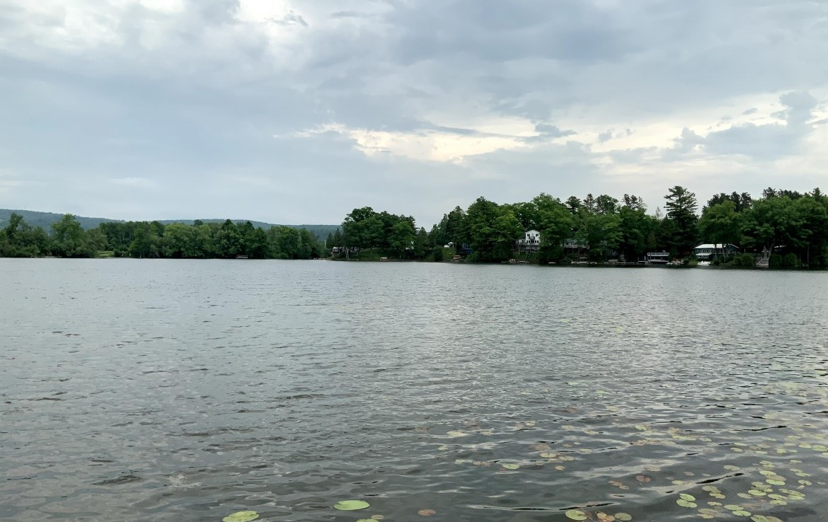 3.4 acres for Sale With Unique Lake Front Year Round Cabins on Leland Pond!