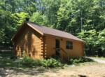 33 Acre Riverfront Property with Log Cabin Parishville NY